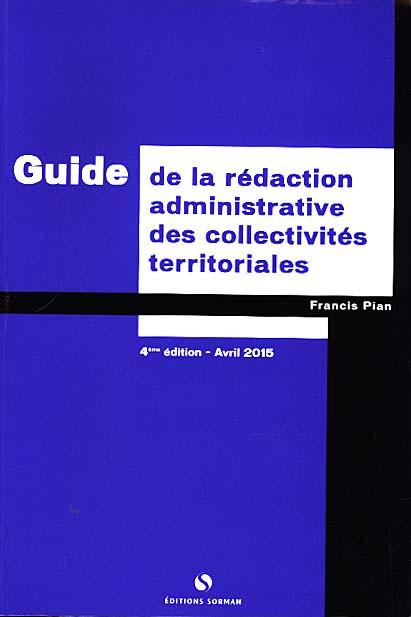 guide de la r u00e9daction administrative des collectivit u00e9s