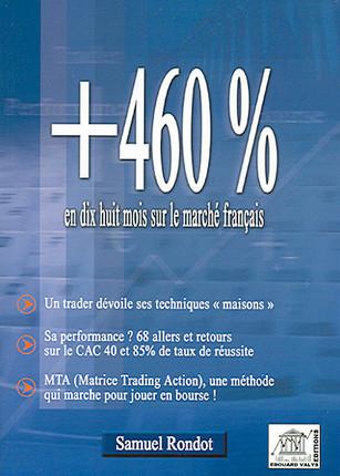 + 460% en dix huit mois sur le marché français
