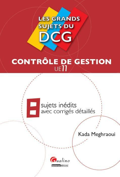 [EBOOK] Les grands sujets du DCG 11 - Contrôle de gestion