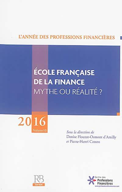L'année des professions financières 2016