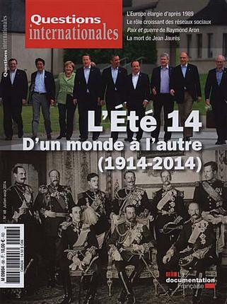 Questions internationales, juillet-août 2014 N°68
