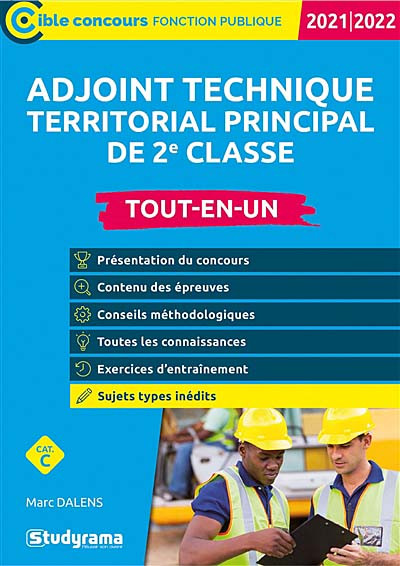 Adjoint technique territorial principal de 2e classe 2021-2022