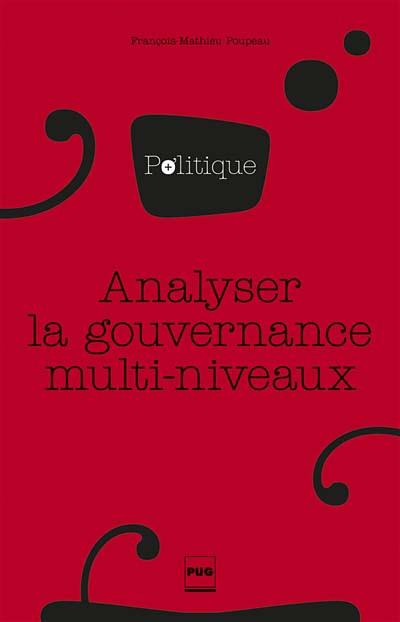 Analyser la gouvernance multi-niveaux