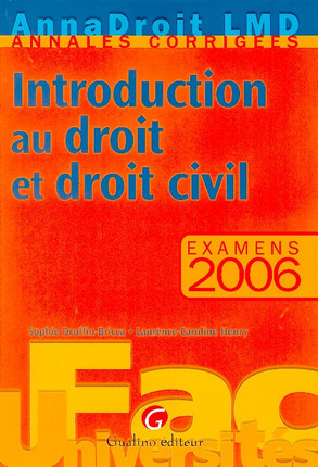 Anna Droit 2006 - Introduction au droit et droit civil
