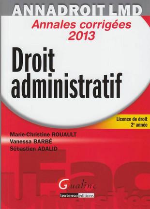 AnnaDroit LMD - Droit administratif 2013