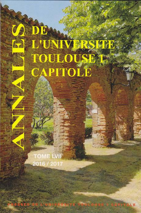 Annales 2016-2017. Tome LVII