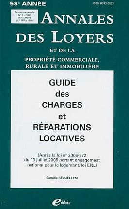 Annales des loyers, 58e édition, septembre 2006 N°9