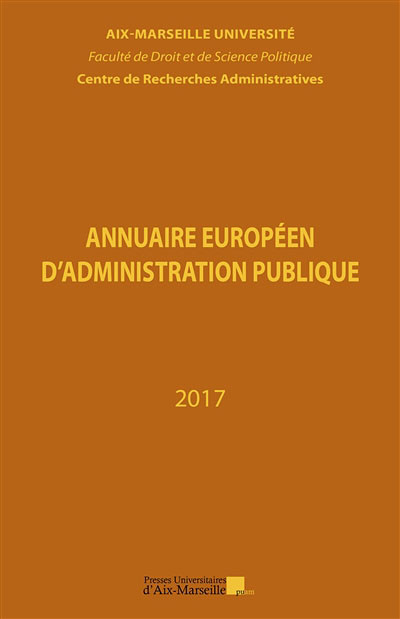 Annuaire européen d'administration publique 2017
