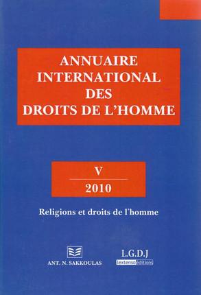 Annuaire international des droits de l'Homme - 2010