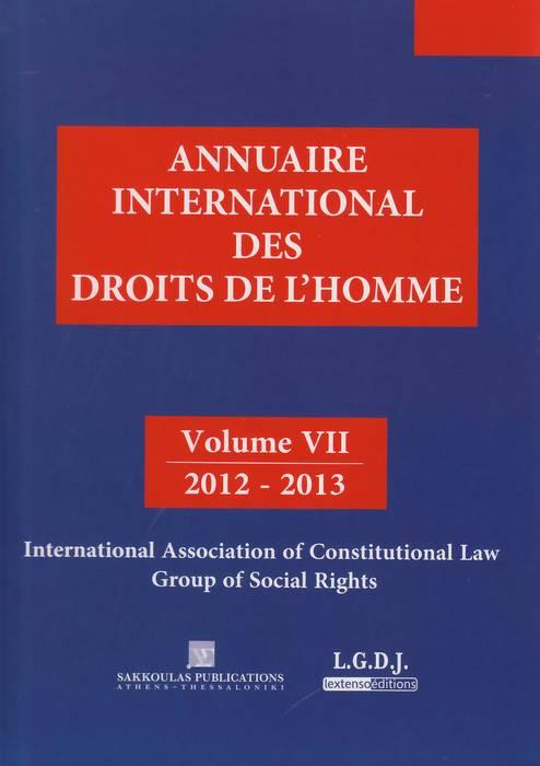 Annuaire international des droits de l'Homme 2012-2013