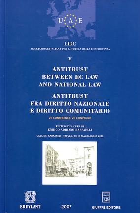 Antitrust Between EC Law et National Law