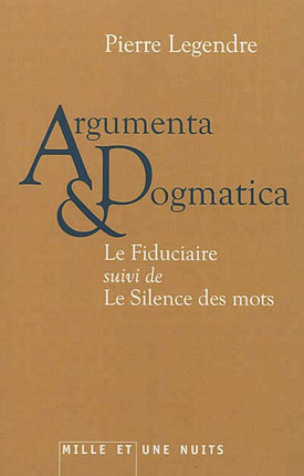 Argumenta & dogmatica
