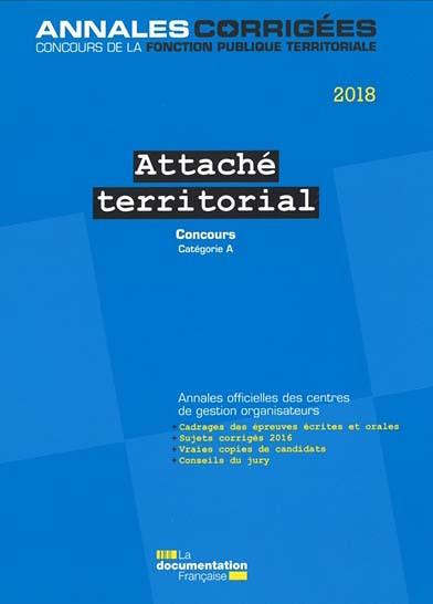 Attaché territorial 2018