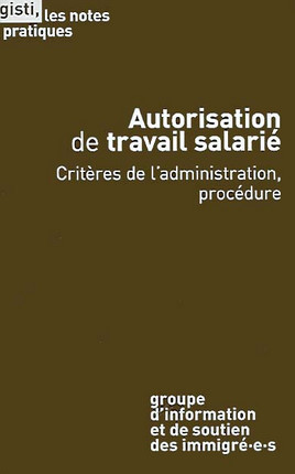 Autorisation de travail salarié