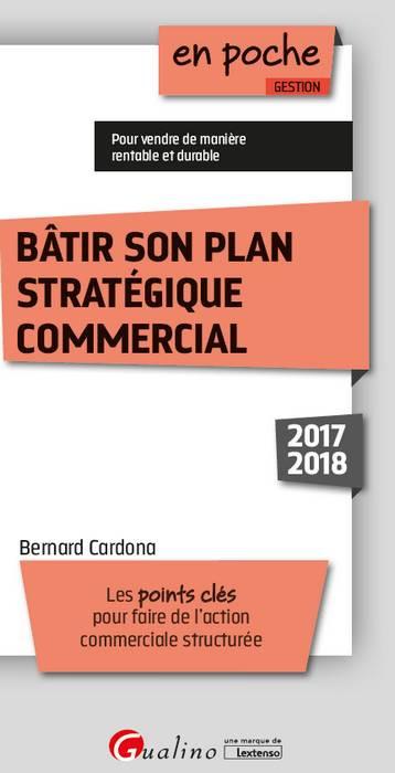 Bâtir son plan stratégique commercial