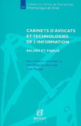 Cabinets d'avocats et technologies de l'information