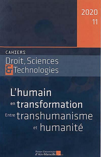 Cahiers Droit, Sciences & Technologies, 2020 N°11