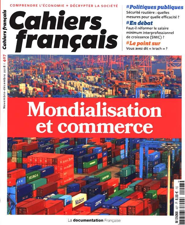 Cahiers français, novembre-décembre 2018 N°407