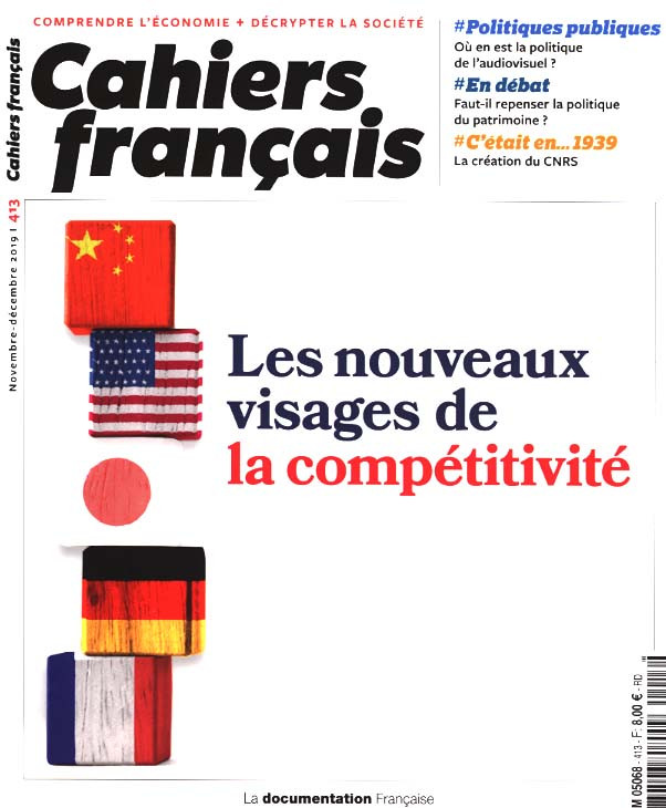 Cahiers français, novembre-décembre 2019 N°413