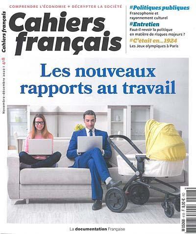 Cahiers français, novembre-décembre 2020 N°418