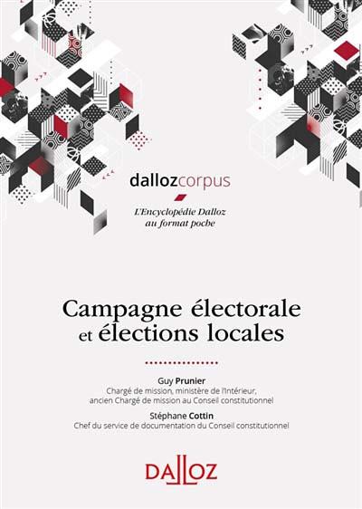 Campagne électorale et élections locales