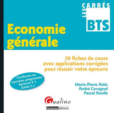 Carrés BTS Économie générale
