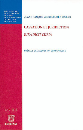 Cassation et juridiction