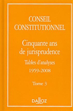 Cinquante ans de jurisprudence