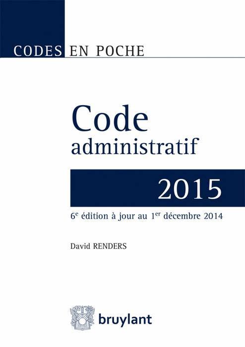 Code administratif 2015