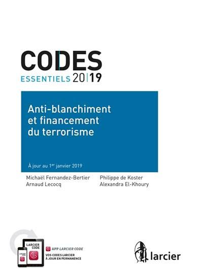 Code anti-blanchiment et financement du terrorisme 2019