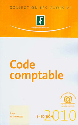 Code comptable 2010