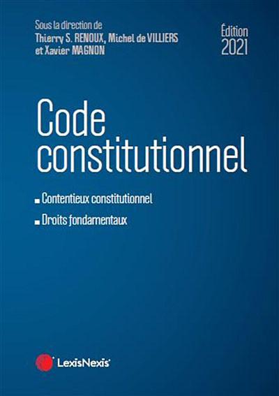 Code constitutionnel - Édition 2021
