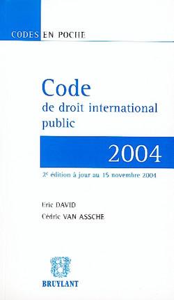 Code de droit international public - 2004