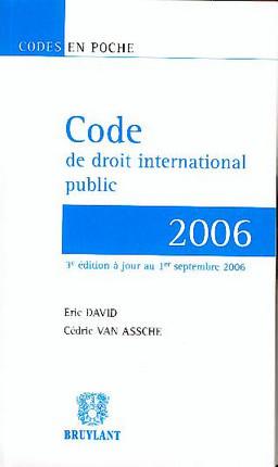 Code de droit international public