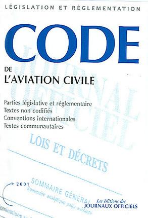 Code de l'aviation civile 2001