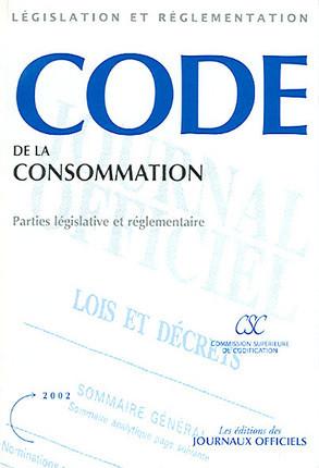 Code de la consommation 2002