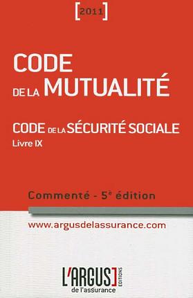 Code de la mutualité 2011