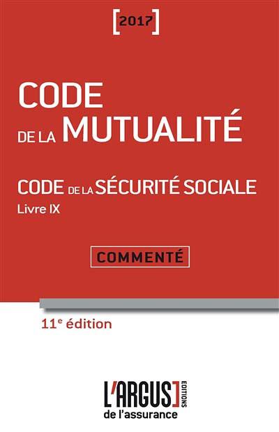 Code de la mutualité 2017