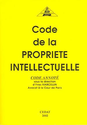 Code de la propriété intellectuelle 2002