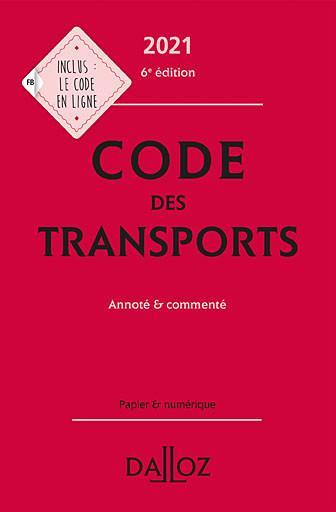 Code des transports 2021