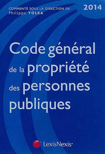 Code général de la propriété des personnes publiques 2014
