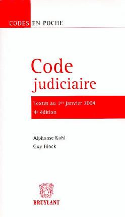 Code judiciaire
