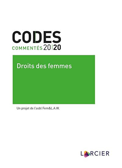 Codes commentés 2020 - Droit des femmes