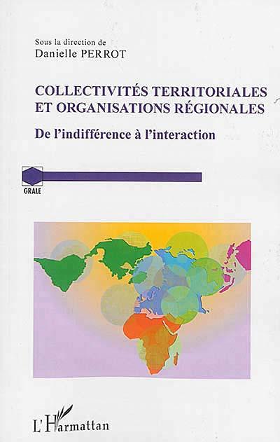 Collectivités territoriales et organisations régionales