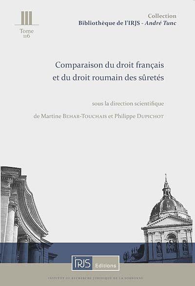 Comparaison du droit français et du droit roumain des sûretés