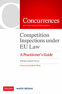Competition Inspections under EU Law
