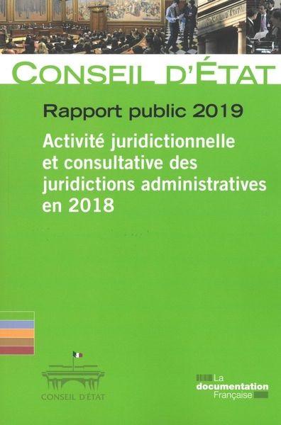 Conseil d'État : rapport public 2019