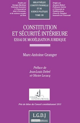 Constitution et sécurité intérieure