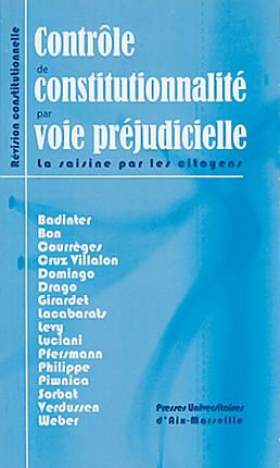 Contrôle de constitutionnalité par voie préjudicielle