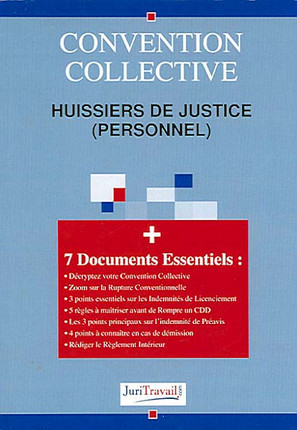 Convention collective huissiers de justice (personnel)